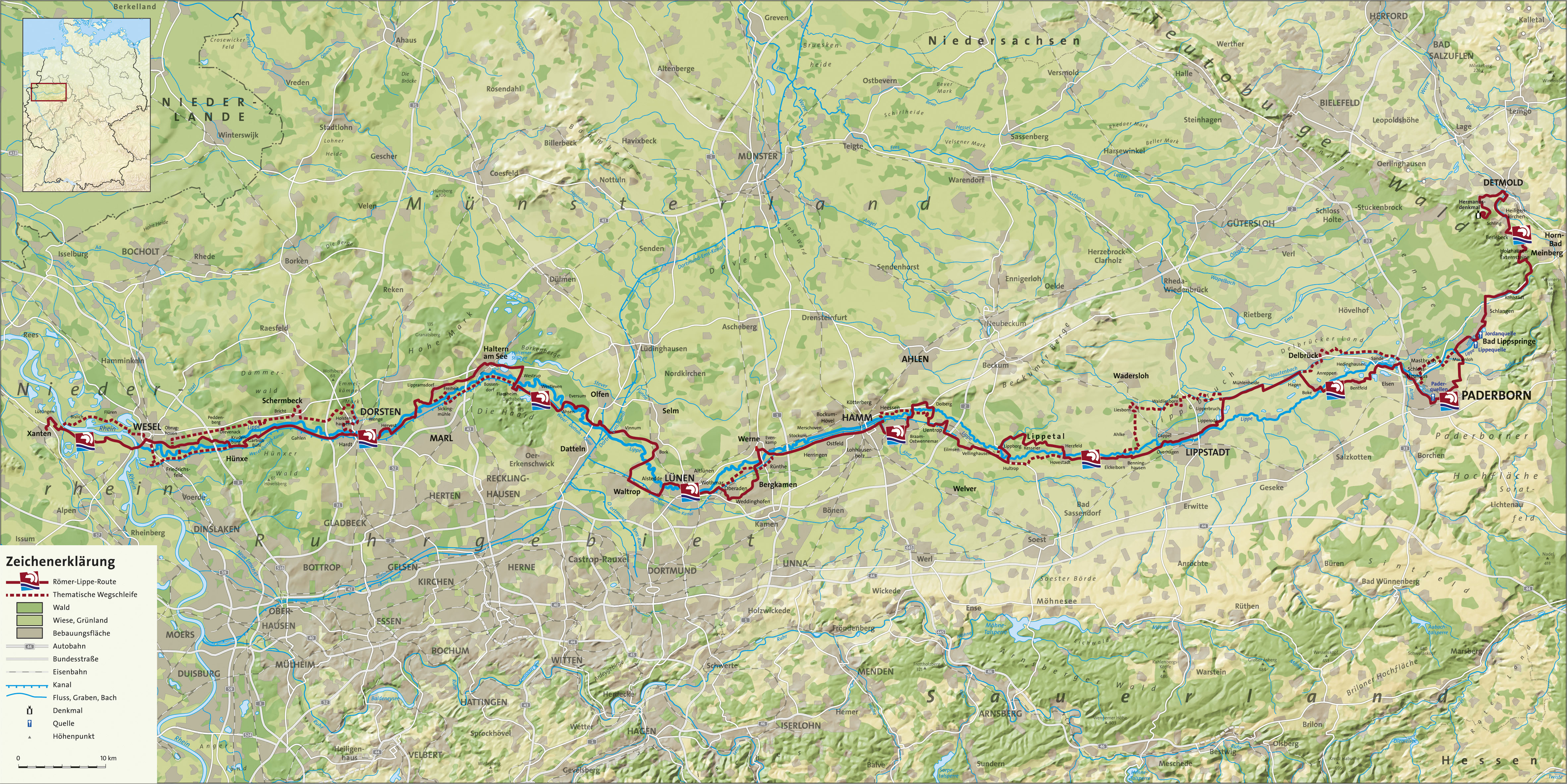 Romer Lippe Route